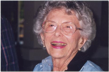 Bea Rosenbaum at age 86